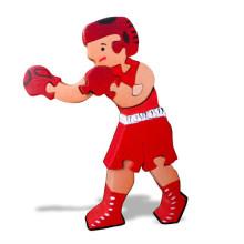 Wooden Boxer Puzzle