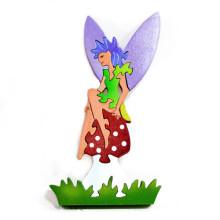 Wooden Mushroom Fairy Puzzle