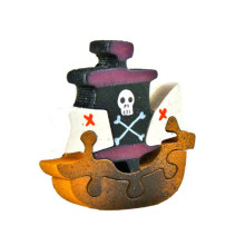 Pirate Ship Magnet Puzzle