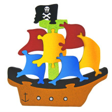 Large Pirate Ship Puzzle