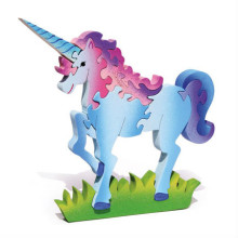 Wooden Unicorn Puzzle