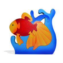 Angel Fish Wooden Puzzle