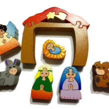 Wooden Nativity Set Puzzle