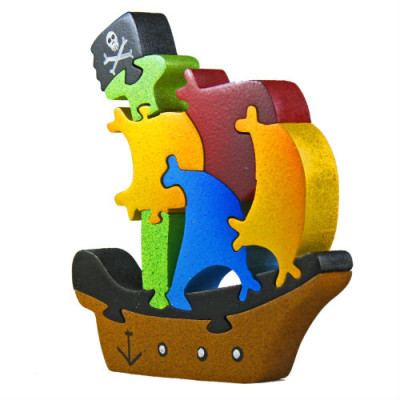 Medium Pirate Ship Puzzle