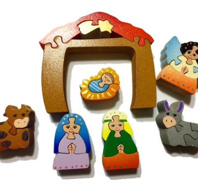 Wooden Nativity Set Puzzle